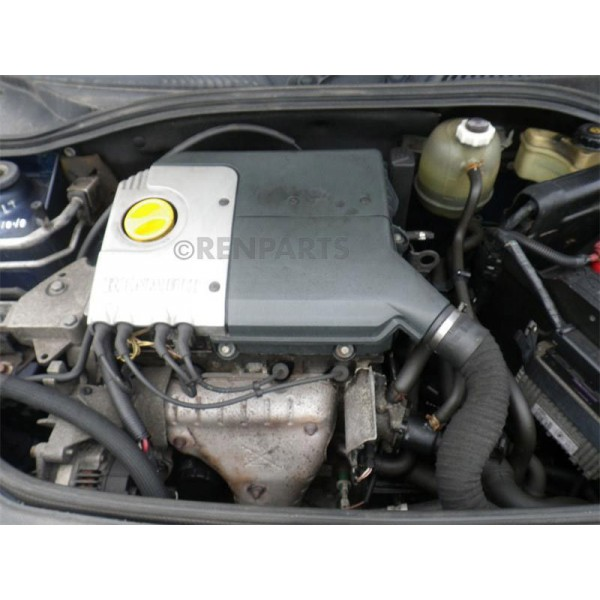 renault clio ii ph1 1998 2001 1 6 8v engine manual only k7m 744 recycled renparts. Black Bedroom Furniture Sets. Home Design Ideas