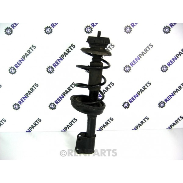 renault clio ii ph2 2001 2006 1 2 1 4 1 6 16v front suspension strut spring renparts. Black Bedroom Furniture Sets. Home Design Ideas