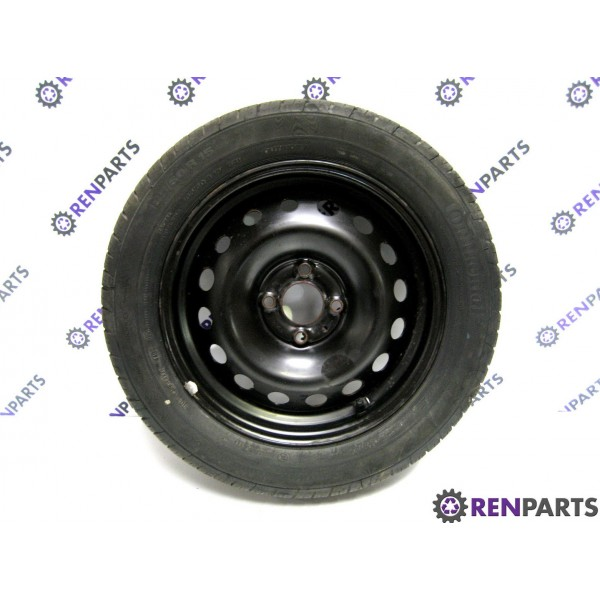 renault clio iii 2006 2012 steel wheel good tyre 185 60 15 recycled renparts. Black Bedroom Furniture Sets. Home Design Ideas